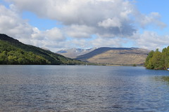 Beinn a'Mhonicag from Loch Arkaig (mickyarm) Tags: lock arkaig