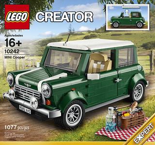 LEGO® 10242 CREATOR 系列【MINI Cooper】經典MINI 野餐車