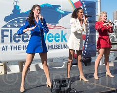 Musical Performance by The USO Show Troupe, Fleet Week 2014 at the Intrepid Museum, New York City (jag9889) Tags: nyc newyorkcity usa ny newyork museum river ship unitedstates manhattan clinton military unitedstatesofamerica vessel celebration intrepid hudsonriver naval uso waterway warship hellskitchen fleetweek 2014 intrepidmuseum ussintrepid northriver navigable pier86 intrepidseaairandspacemuseum unitedserviceorganizations fleetweeknewyork jag9889 5252014 2014fleetweek