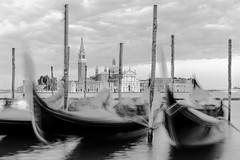 Gondala in Venice (LoVeLyToR) Tags: venice italy gondola blackandwhitel