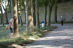 Hiding among the trees (David_and_Marilyn_King) Tags: marlyleroi domaine national france 2016 visit walk park parc trees children playing hiding