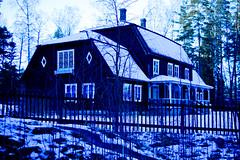 Kahiluoto Manor (Jori Samonen) Tags: kahiluoto manor house building fence tree winter snow seurasaari island openair outdoor museum helsinki finland nikon d3200 180550 mm f3556 nikond3200 180550mmf3556