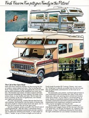 ford econoline rv cutaway chassis motorhome class c truck brochure