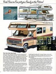 ford econoline rv cutaway chassis motorhome class c truck brochure