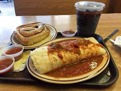 20160717_Ryan_phone_0002.jpg (Ryan and Shannon Gutenkunst) Tags: albuquerque frontierrestaurant newmexicanfood newmexico burrito cinnamonroll salsa nm usa