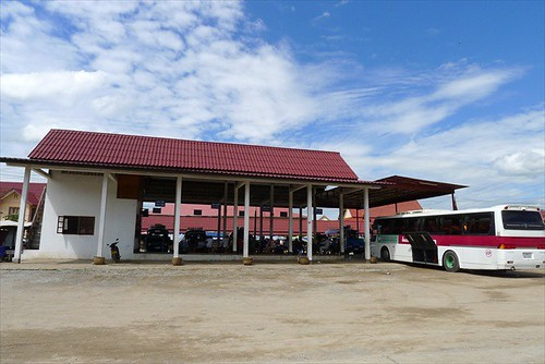 Luang Prabang Northern Bus station - view