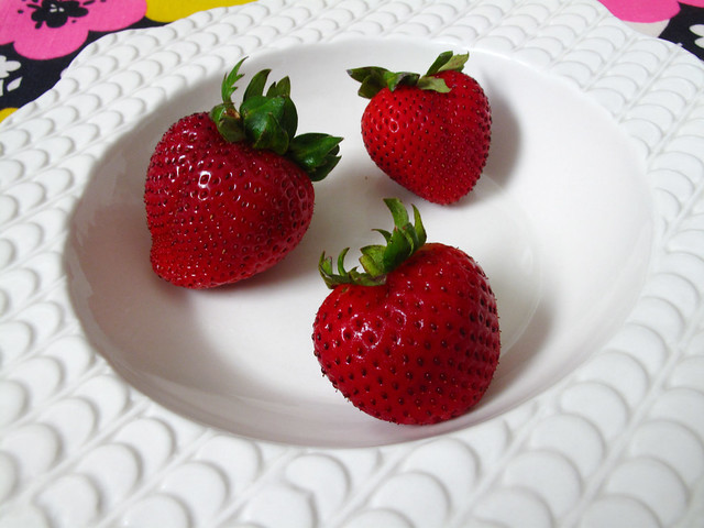 Yummy strawberries!