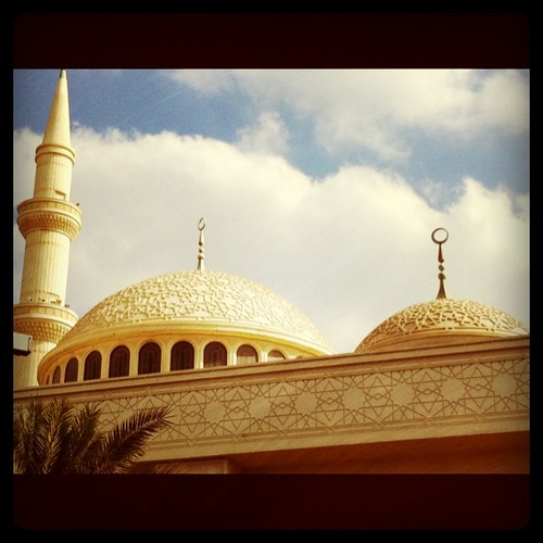 Kaniza's mosque near to Saint Joseph Church, Abu Dhabi