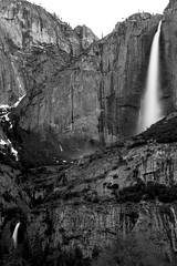 Upper and Lower Yosemite Falls (arch@jero) Tags: longexposure water landscape wide falls sierra yosemitenationalpark ultra yosemitevalley hoya mercedriver us395 californiavalley wawona 1740mml nd8 canon7d