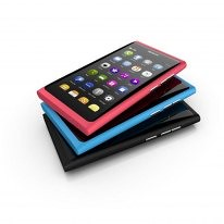 Stack of Nokia N9 device images
