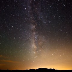 simply milky way (Eric 5D Mark III) Tags: california sky usa silhouette night canon square landscape photography star scenery unitedstates desert wideangle ridge milkyway joshuatreenationalpark ericlo ef14mmf28liiusm eos5dmarkii