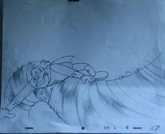 FRANKENSTEIN JR. Original Production Drawing (Nemo Academy) Tags: original hanna drawing jr frankenstein barbera