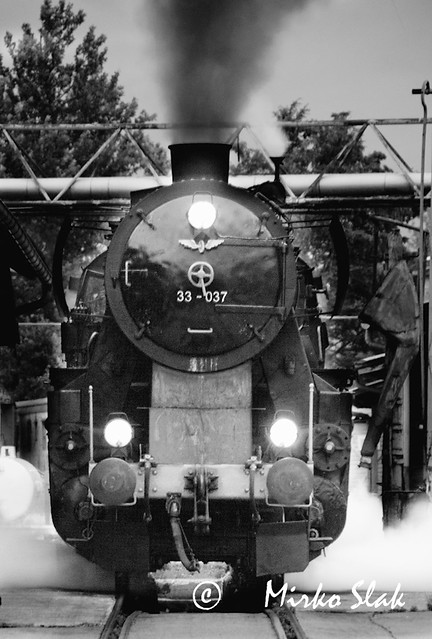 Steam locomotive series ??DRB 52, made 1942