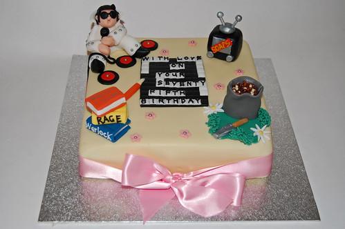 Fine 75Th Birthday Hobbies Cake Beautiful Birthday Cakes Funny Birthday Cards Online Bapapcheapnameinfo