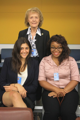 Roma and interns at Law of Sea Conference June 2011 by unngosustainability