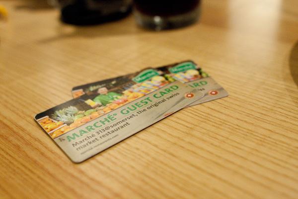 Marche Guest Card