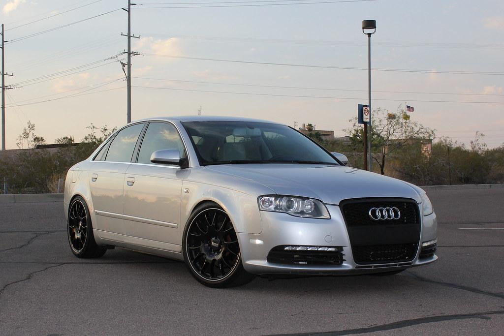 My Silver A4 On Black Bbs Ch Pics
