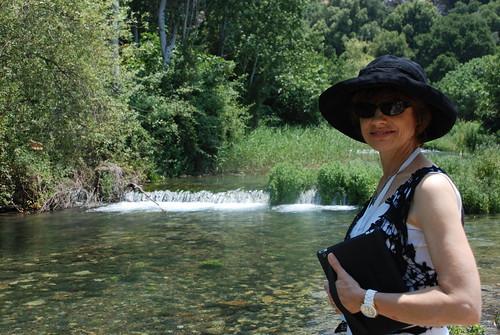 Paula at Jordan River