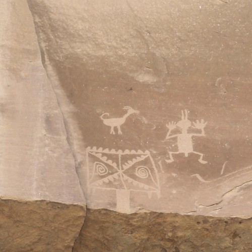 Petroglyphs at Chaco Canyon
