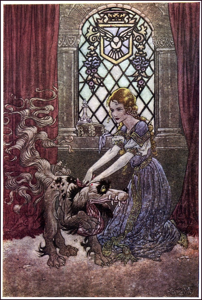 Charles James Folkard - The Princess and Curdie by George Macdonald 17