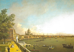 Canaletto (Giovanni Antonio Canal) - View of London: the Thames River fro Somerset House towards the City, 1751 at The Queen's Gallery Buckingham Palace London England (mbell1975) Tags: city uk england house london art thames museum river painting canal italian gallery museu view royal grand somerset palace muse musee m queen queens master painter gb venetian museo masters residence antonio buckingham fro towards muzeum giovanni italiano canaletto residenz the mze 1751 museumuseum