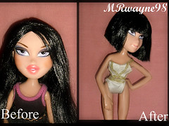 Melina Bergeron - BNTM cycle 2 theme 2 : Expression Make- overs (opt.2) (MRwayne98) Tags: forever bratz diamondz sharidan
