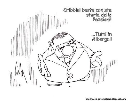 Inaccettabile stretta sulle pensioni by Livio Bonino