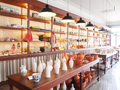 Visitando la tienda A vida portuguesa en Porto