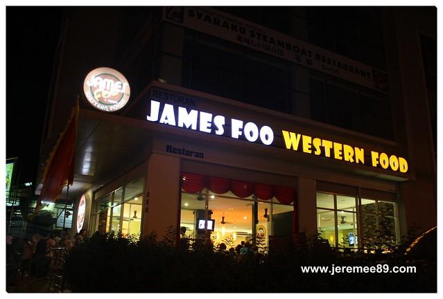 James Foo Western Food (New Shop) @ Fettes Park