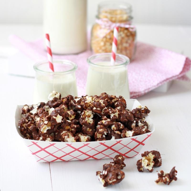 receta, recipe, chocolate, palomitas, palomitas de máiz, popcorn