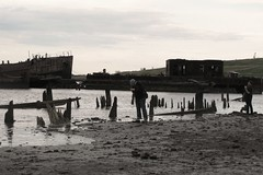 Finding the shots (bk rabblerouser) Tags: newyorkcity abandoned boat decay statenisland arthurkill boatgraveyard