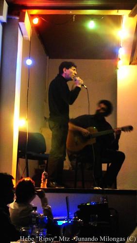CARDENAL DOMINGUEZ Y ARIEL ARGAÑARAZ by Junando Milongas Junando Tango