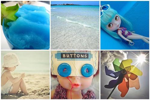 Feliz verano by Lola azul