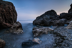 Makri, Greece (TeryKats) Tags: winter sea beach rock canon drag eos rocks day slow wide wideangle 11 tokina clear greece pebble shutter 16 alexandroupolis 500d makri lefteris alexandropolis tokina1116 eastmacedoniaandthrace katsouromallis terykats