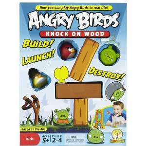 Angry Birds: Knock On Wood Game愤怒的小鸟现实版$13.50