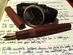 fountain pen mechanical hamilton khaki pioneer micarta twsbi