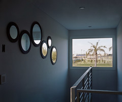 Andres (federicortegasanchez) Tags: house color film window ventana casa tn pentax haus cnn espejo medium format 6x7 palmera 67 2012 2010 houseman 2011 tyc baranda ventanita