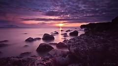 Dreamland (Geinis) Tags: ocean sunset sky cloud sun seascape beach nature colors weather clouds canon photography iceland heaven sundown sigma dreamland beatiful 2012 icelandic canon500d sigma1020