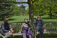 Three generations sit for a rest and a chat (IanAWood) Tags: kewgardens london kew spring raw richmond surrey worldheritagesite royalbotanicgardens d3s walkingwithmynikon nikkorafs60mmf28gmicro