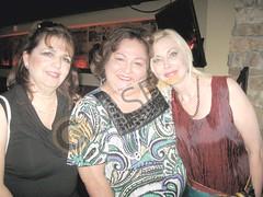 Estrella Negrete, Hilda Solís y Lisa de la Garza.