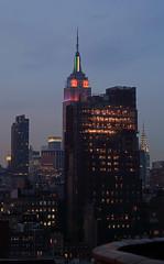 Empire State Building 6/22 - NYC Pride Week (ccho) Tags: nyc manhattan esb empirestatebuilding gothamist prideweek