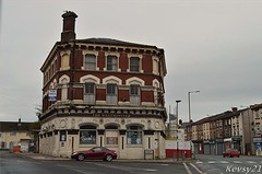 The Westminister Pub (kev thomas21) Tags: road street uk england building abandoned liverpool pub derelict merseyside kirkdale