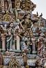 GOPURAMS COUVERTS DE SCULPTURES À PONDICHERY (pierre.arnoldi) Tags: inde pondichery gopurams