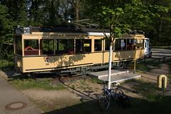 03 - Machnower Schleuse, Straßenbahn 96 (MegaBenzyl) Tags: tram strassenbahn 96 bvg kleinmachnow teltowkanal wasserstrasse historictram bundeswasserstrasse linie96