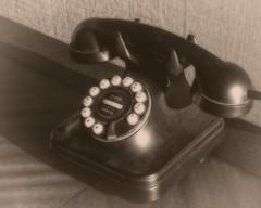 Vintage Phone Week 16 Challenge, Contrast B&W (DASEye) Tags: bw contrast vintage phone antique olympus week16 davidadamson artisticbw daseye 52in2015 52in2015challenge