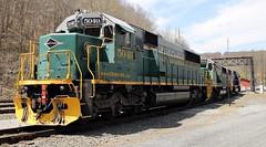 RBMN 5049 SD50 ex MP/UP 5049 (Conrail1978) Tags: railroad blue mountain up port train reading pacific clinton union scenic railway loco pa missouri gorge mp northern lehigh unit 426 5014 emd 5049 5033 sd50 rbmn lgsr