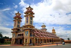 Cao Dai Tempel (MTTAdventures) Tags: