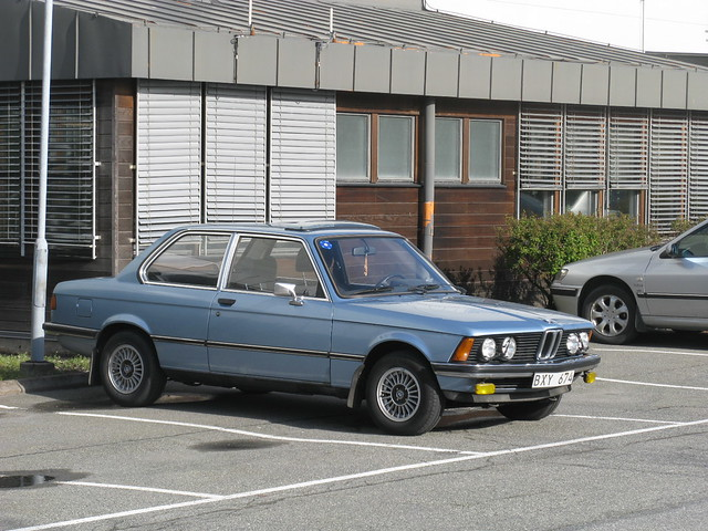 cars bmw 320 3series 3er e21