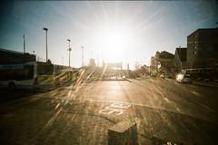 BUS (Markus Moning) Tags: camera light sun bus film wil public backlight analog 35mm lens toy schweiz switzerland back slim transport wide mobil plastic 200 expired sonne viv vivitar vignette dm ultra ch gegenlicht moning sanktgallen paradies v markusmoning