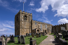 Church of Saint Mary, Whitby (Mike Serigrapher) Tags: church saint mary churchofsaintmary whitbynorthyorkshire